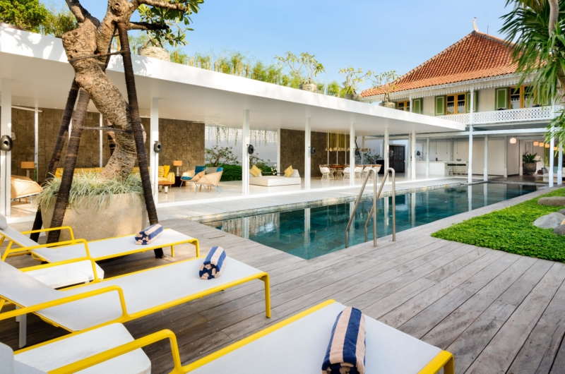 Gardens and Pool - Villa 1880 - Batubelig, Bali