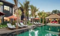 Reclining Sun Loungers - Villa Abakoi - Seminyak, Bali