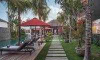 Gardens and Pool - Villa Abakoi - Seminyak, Bali