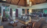 Living and Dining Area - Villa Abakoi - Seminyak, Bali
