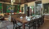 Indoor Living and Dining Area - Villa Abakoi - Seminyak, Bali