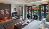 Bedroom with Seating Area - Villa Abakoi - Seminyak, Bali
