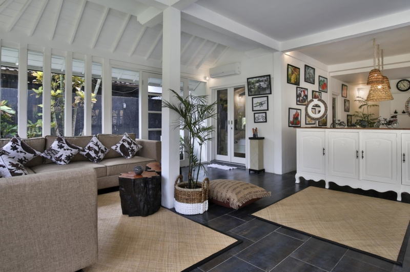 Living Area - Villa Abida - Seminyak, Bali
