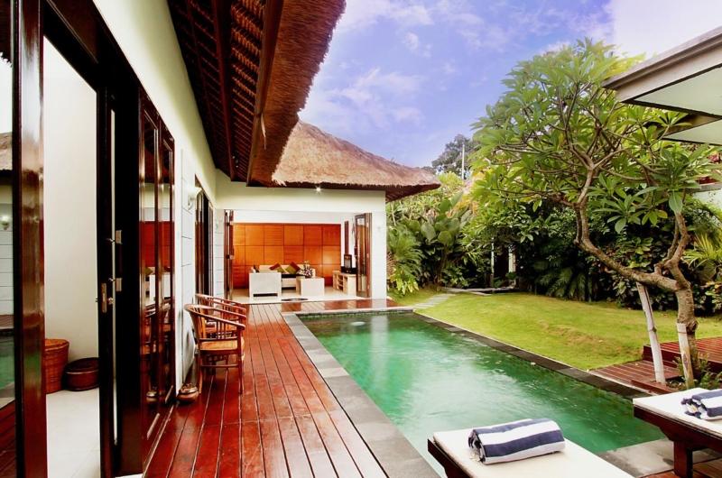 Pool Side - Villa Abimanyu II - Seminyak, Bali