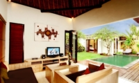 Living Area with Pool View - Villa Abimanyu II - Seminyak, Bali