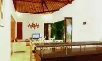 Indoor Living and Dining Area - Villa Abimanyu II - Seminyak, Bali