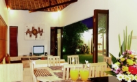 Dining Area - Villa Abimanyu II - Seminyak, Bali