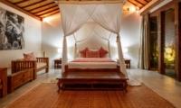 Bedroom with Mosquito Net - Villa Ace - Seminyak, Bali
