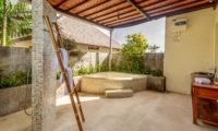 Semi Open Bathroom - Villa Ace - Seminyak, Bali