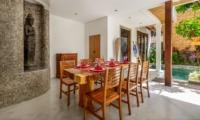 Dining Area - Villa Ace - Seminyak, Bali