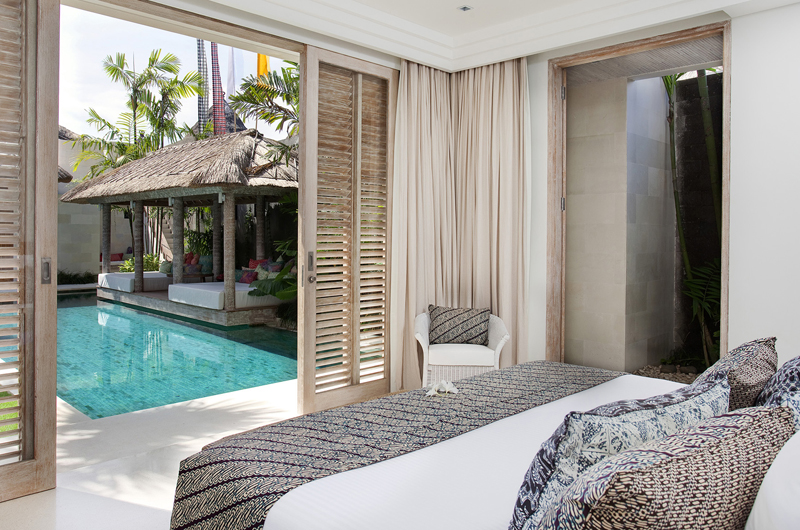 Bedroom with Pool View - Villa Adasa - Seminyak, Bali