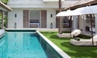 Pool Side Loungers - Villa Adasa - Seminyak, Bali