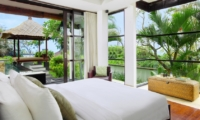 Bedroom with Outdoor View - Villa Adenium - Jimbaran, Bali