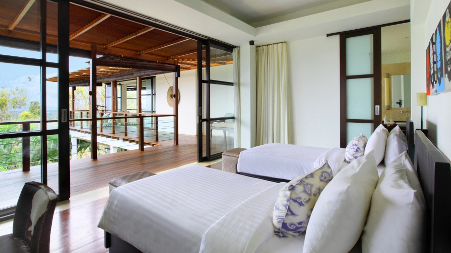Twin Bedroom - Villa Adenium - Jimbaran, Bali