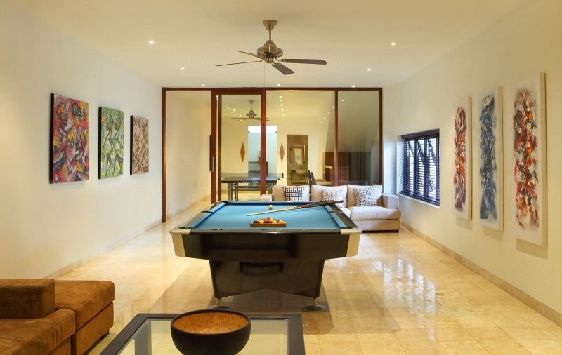 Billiard Table - Villa Adenium - Jimbaran, Bali