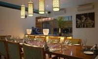 Indoor Dining Area - Villa Aiko - Jimbaran, Bali