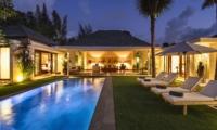 Swimming Pool at Night - Villa Alabali - Seminyak, Bali