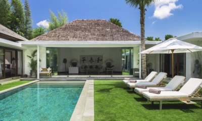 Pool Side Loungers - Villa Alabali - Seminyak, Bali