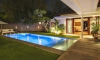 Pool at Night - Villa Alabali - Seminyak, Bali