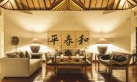 Living Area - Villa Alabali - Seminyak, Bali