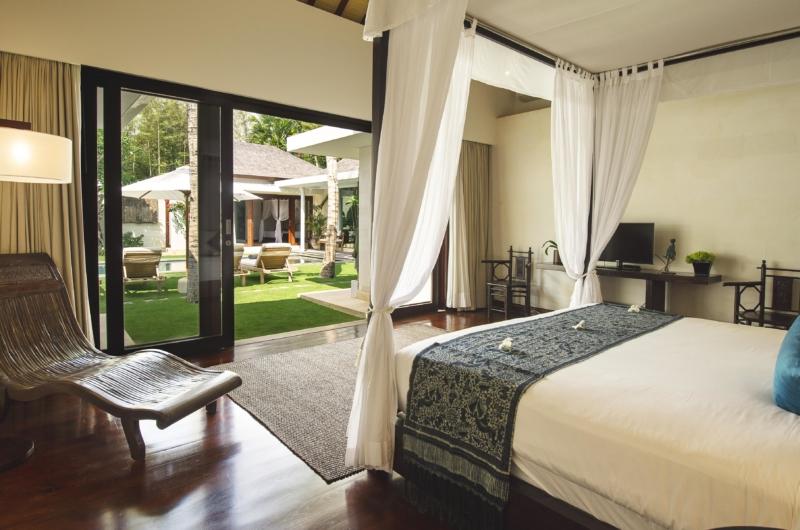 Bedroom with Garden View - Villa Alabali - Seminyak, Bali