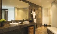 His and Hers Bathroom - Villa Alabali - Seminyak, Bali