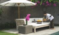 Outdoor Seating Area - Villa Alabali - Seminyak, Bali