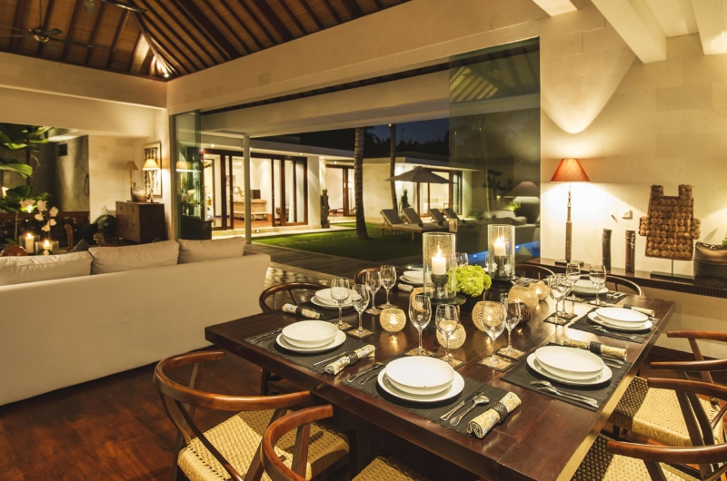 Living and Dining Area - Villa Alabali - Seminyak, Bali
