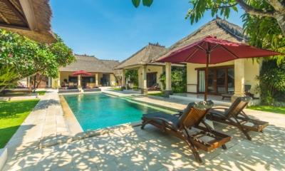 Gardens and Pool - Villa Alam - Seminyak, Bali