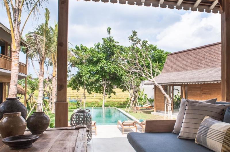 Lounge Area with Pool View - Villa Alea - Kerobokan, Bali