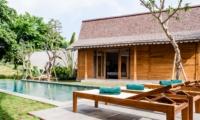 Pool Side Loungers - Villa Alea - Kerobokan, Bali