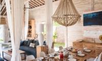 Dining Area with Crockery - Villa Alea - Kerobokan, Bali