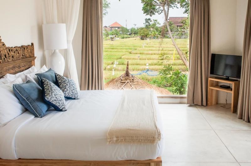 Bedroom with Farms View - Villa Alea - Kerobokan, Bali