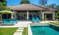 Pool Side Loungers - Villa Alore - Seminyak, Bali