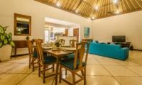 Indoor Dining Area - Villa Alore - Seminyak, Bali
