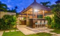 Outdoor Area at Night - Villa Alore - Seminyak, Bali