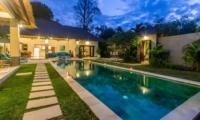 Swimming Pool at Night - Villa Alore - Seminyak, Bali
