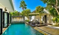 Pool Side - Villa Amala Residence - Seminyak, Bali