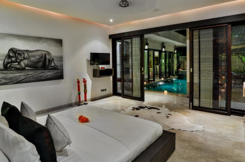Bedroom with Pool View - Villa Amala Residence - Seminyak, Bali