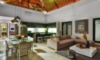 Living and Dining Area - Villa Amala Residence - Seminyak, Bali