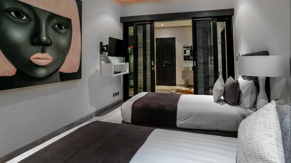 Twin Bedroom - Villa Amala Residence - Seminyak, Bali