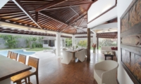 Dining Area with Pool View - Villa Amaya - Seminyak, Bali