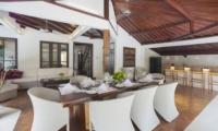 Living and Dining Area - Villa Amaya - Seminyak, Bali
