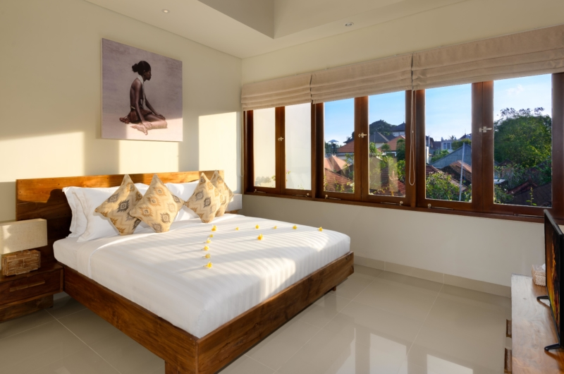 Bedroom with View - Villa Amelia - Legian, Bali