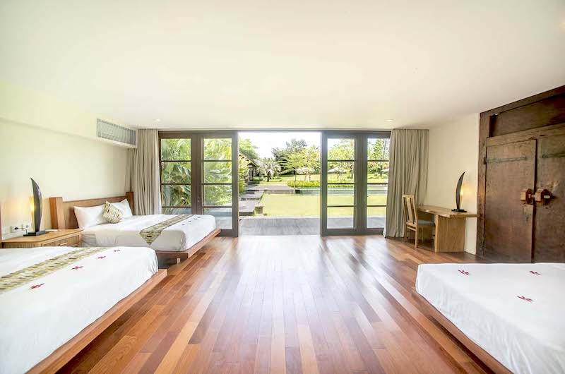 Bedroom Three with Garden View - Villa Amita - Canggu, Bali