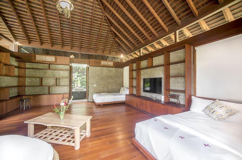 Bedroom Seven with TV - Villa Amita - Canggu, Bali