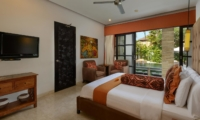 Bedroom with Pool View - Villa Amman Residence - Seminyak, Bali
