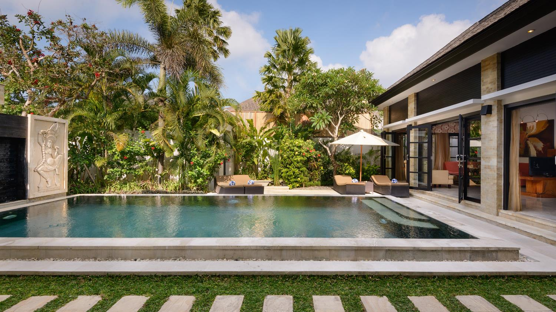 Pool Side - Villa Amman Residence - Seminyak, Bali