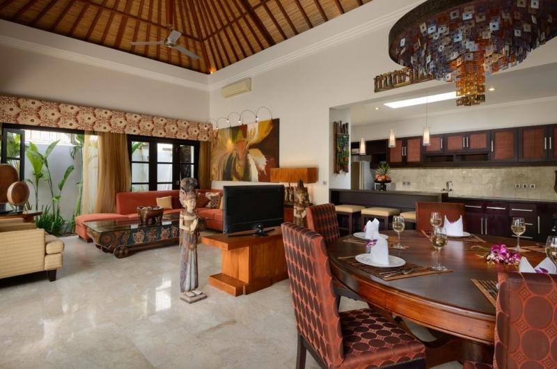 Living and Dining Area - Villa Amman Residence - Seminyak, Bali