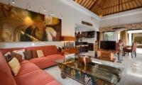 Living Area with TV - Villa Amman Residence - Seminyak, Bali